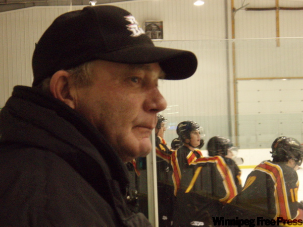 Mel Sonnenberg's Blades had a tough time in Beausejour.