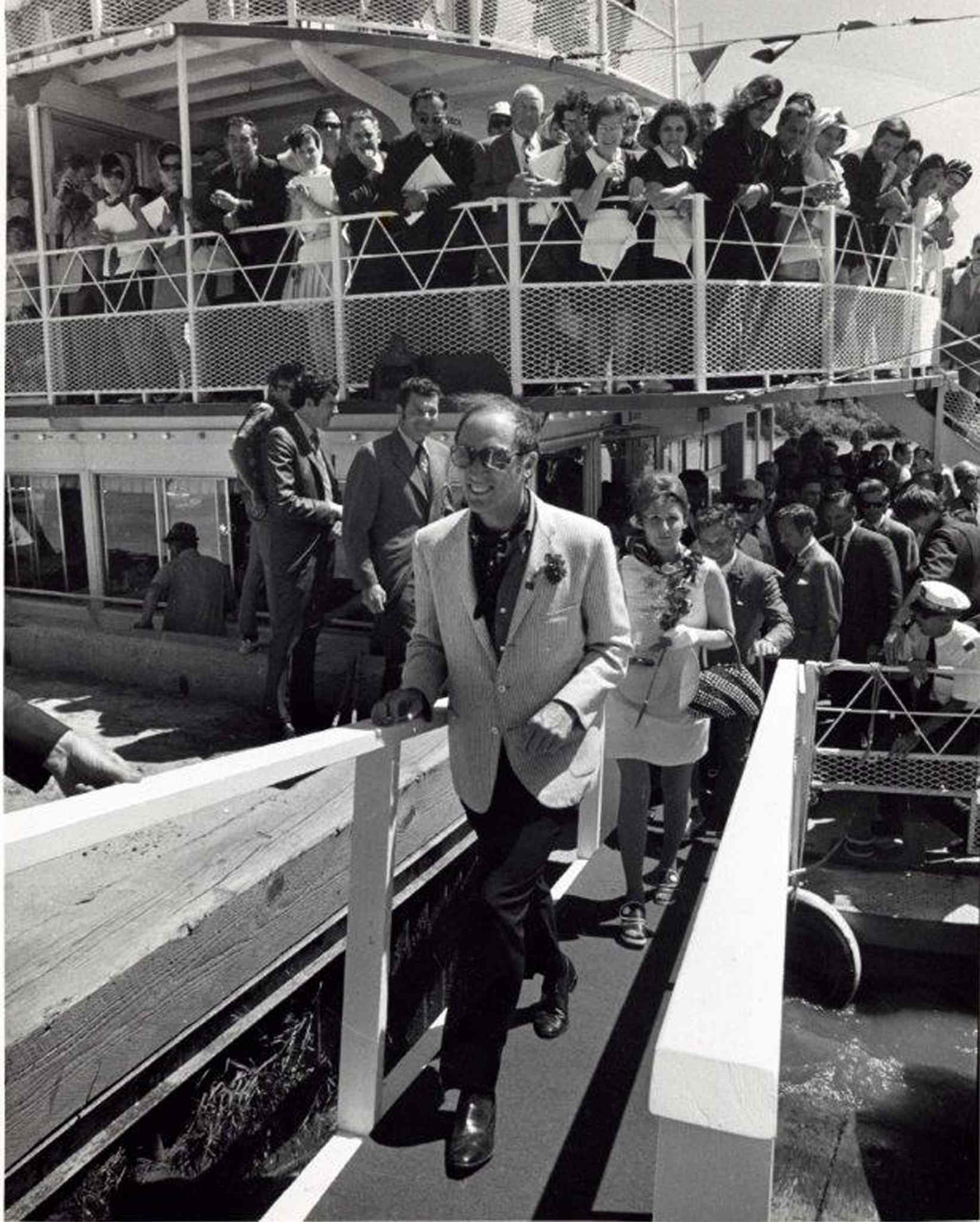 Crowds flocked to the Paddlewheel Queen when former prime minister Pierre Trudeau took a cruise.