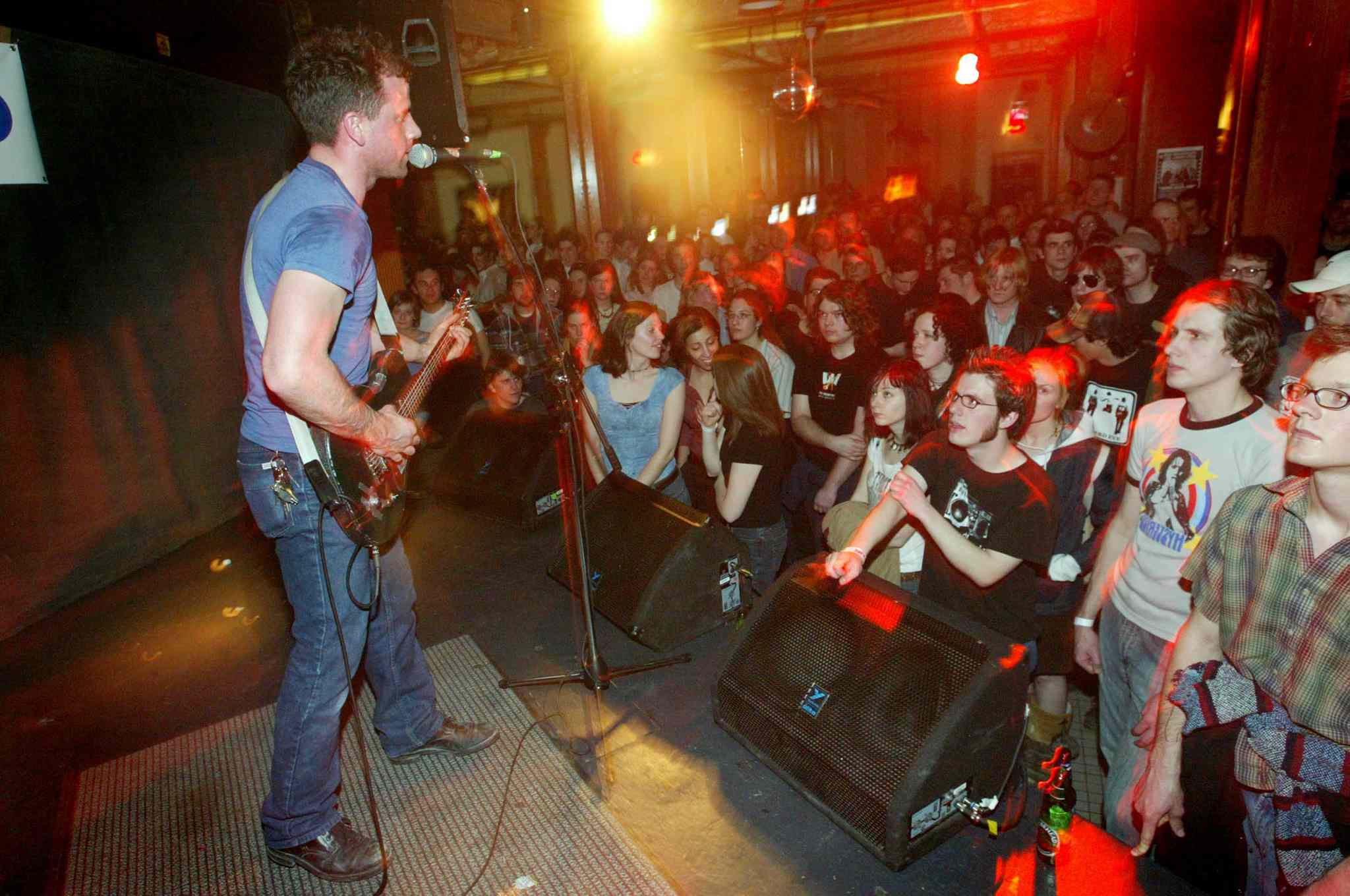 Greg MacPherson performs to a packed house at the Royal Albert Arms during Junofest in 2005.