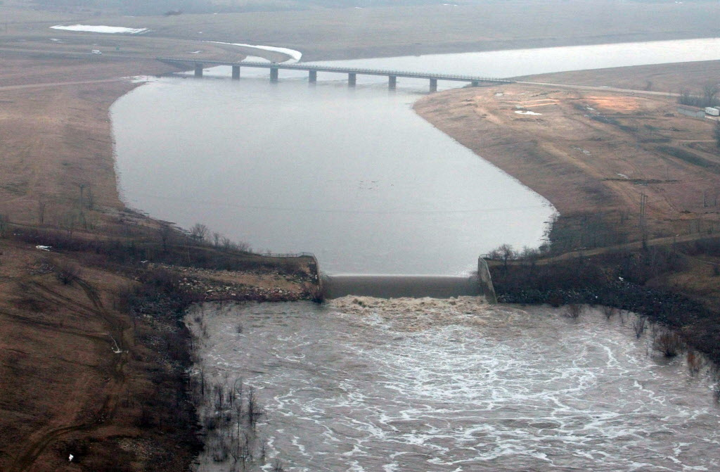 The Red River Floodway has been used 30 of the 45 years it has been in service.