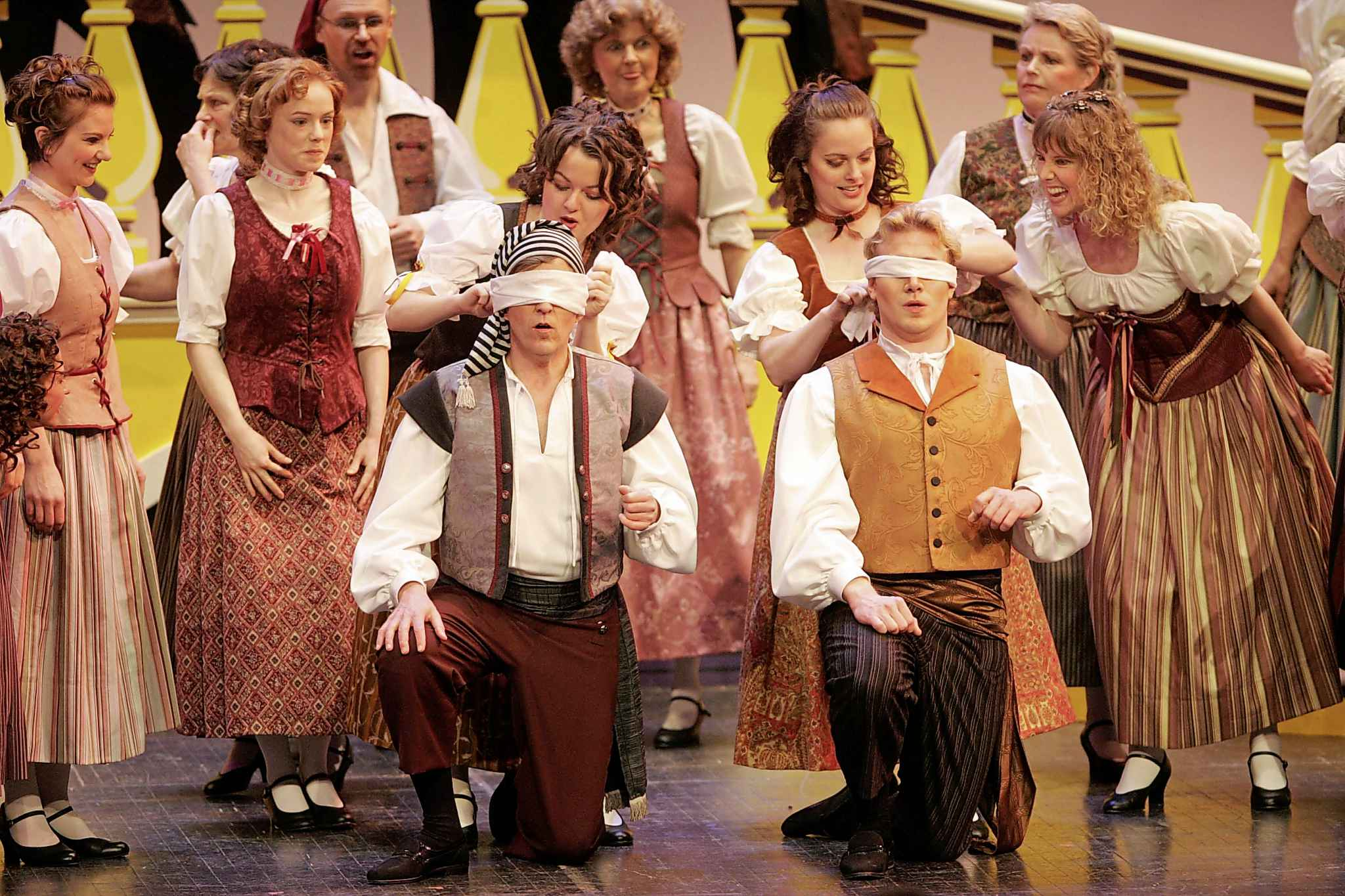 The comic opera The Gondoliers was staged in 2007. (Boris Minkevich / Winnipeg Free Press files)