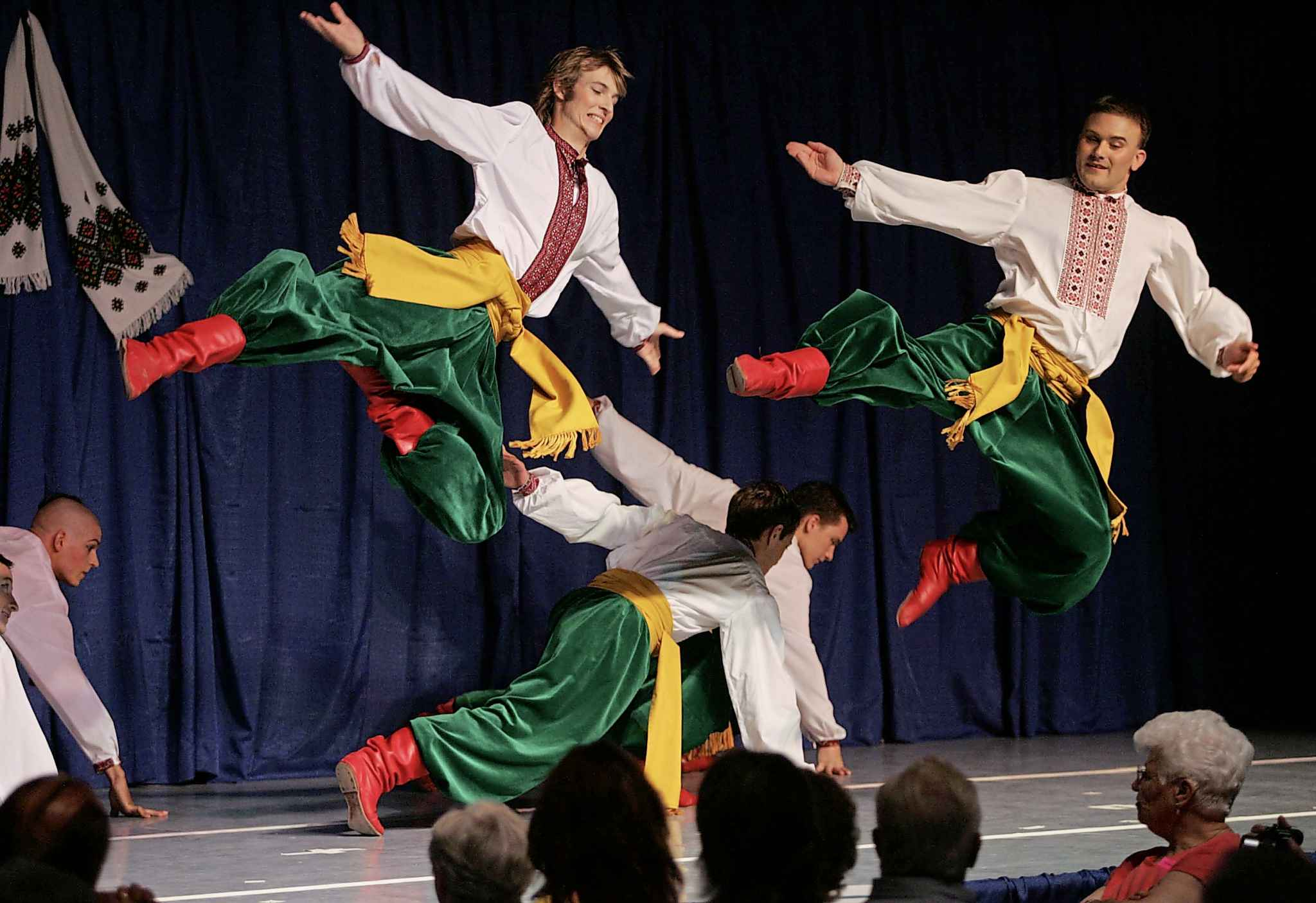 The Ukraine-Kyiv pavilion is one of 21 original Folklorama pavilions, meaning it will be celebrating its 50th anniversary this year, too. (Boris Minkevich / Winnipeg Free Press files)