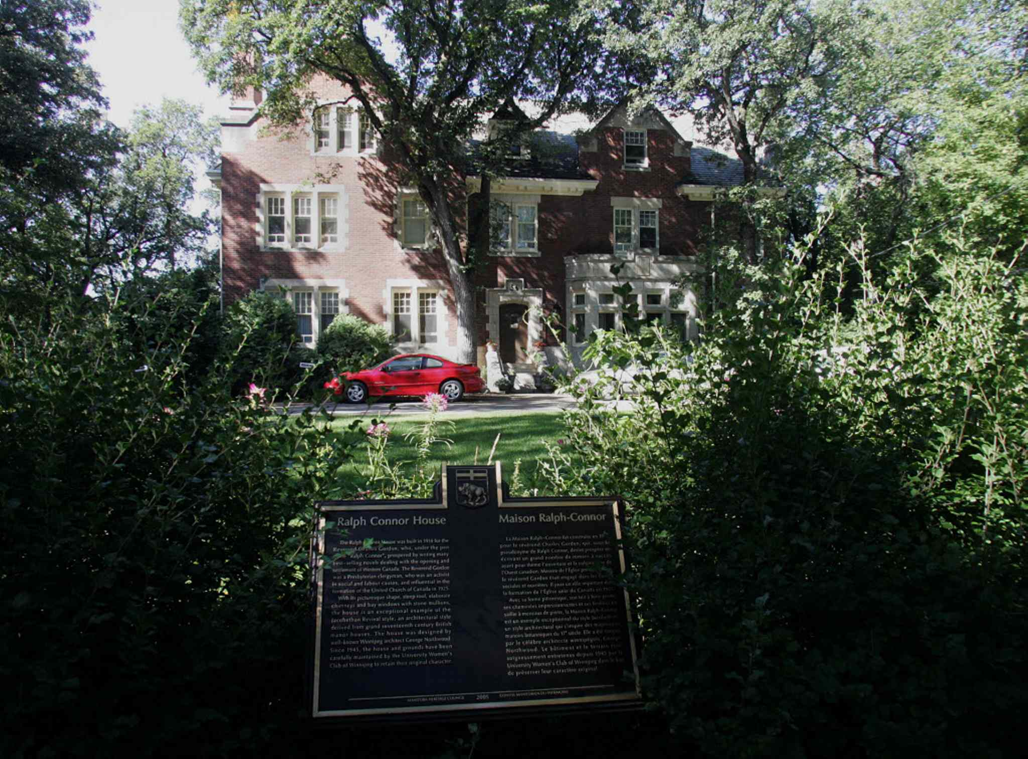 Ralph Connor House at 54 Westgate is one of the seven houses that will be included in the Heritage House and Garden Tour of Armstrong's Point on Sun., Sept. 7.