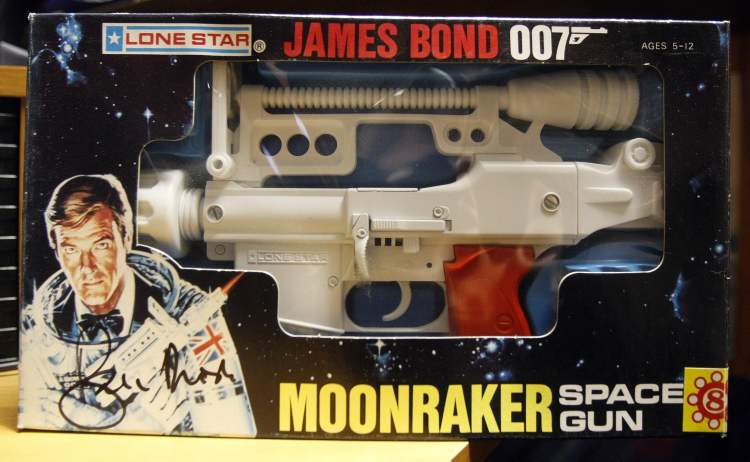 Collector Jeff Beque has a James Bond