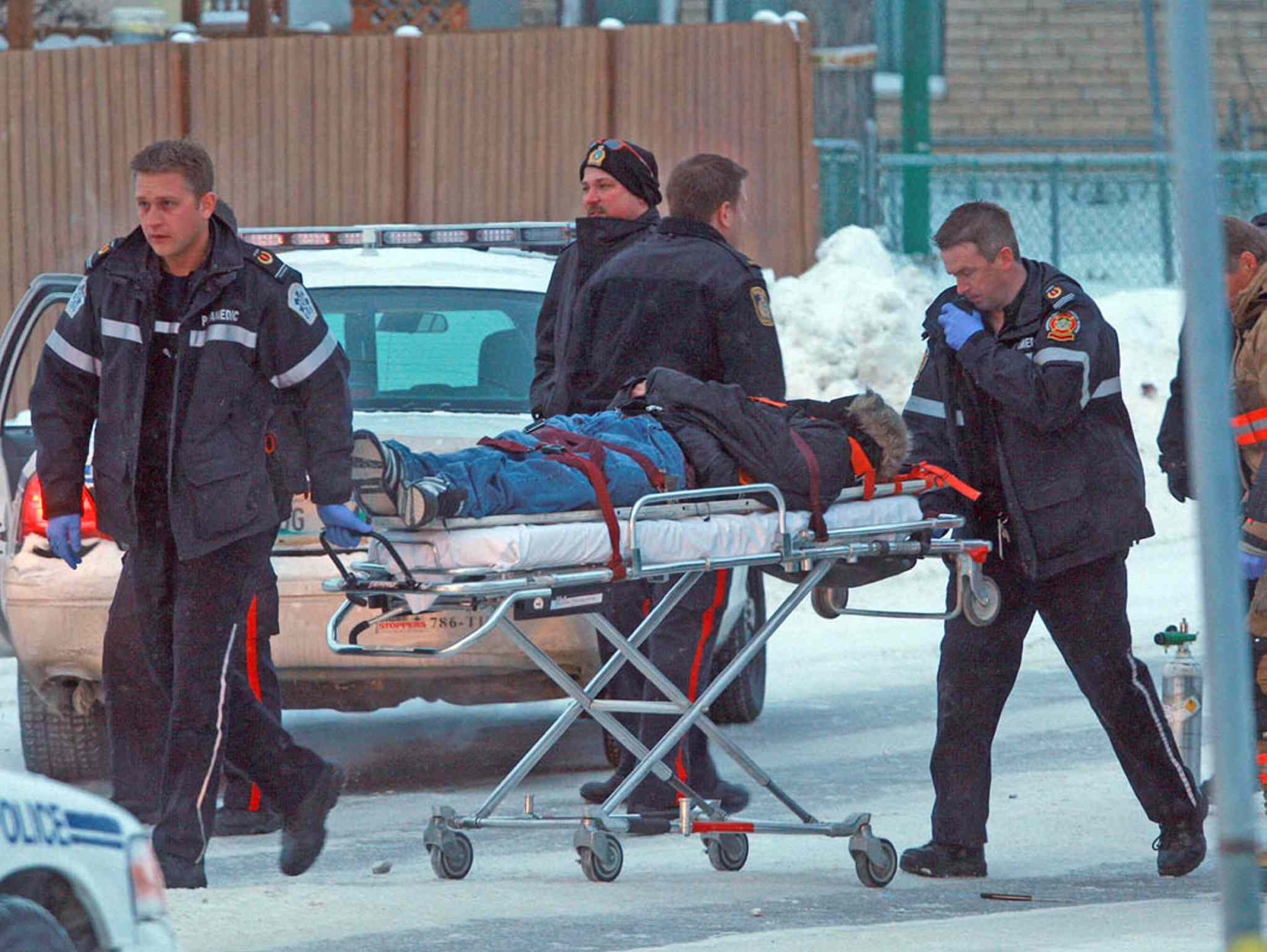 Matthew Prince was shot and wounded by Winnipeg police in 2009.