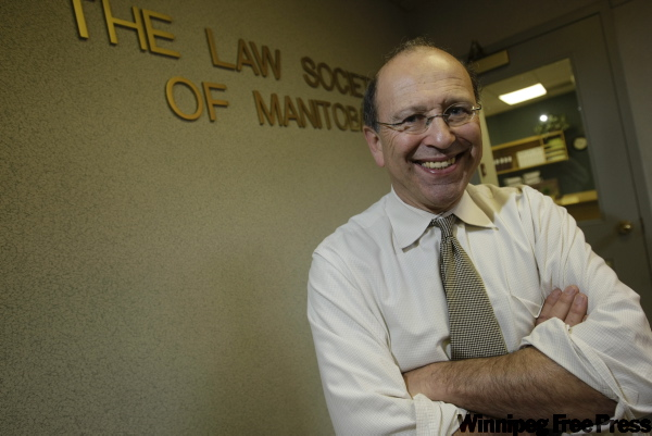 Allan Fineblit says even people who make a decent living can have trouble affording the legal services they need.