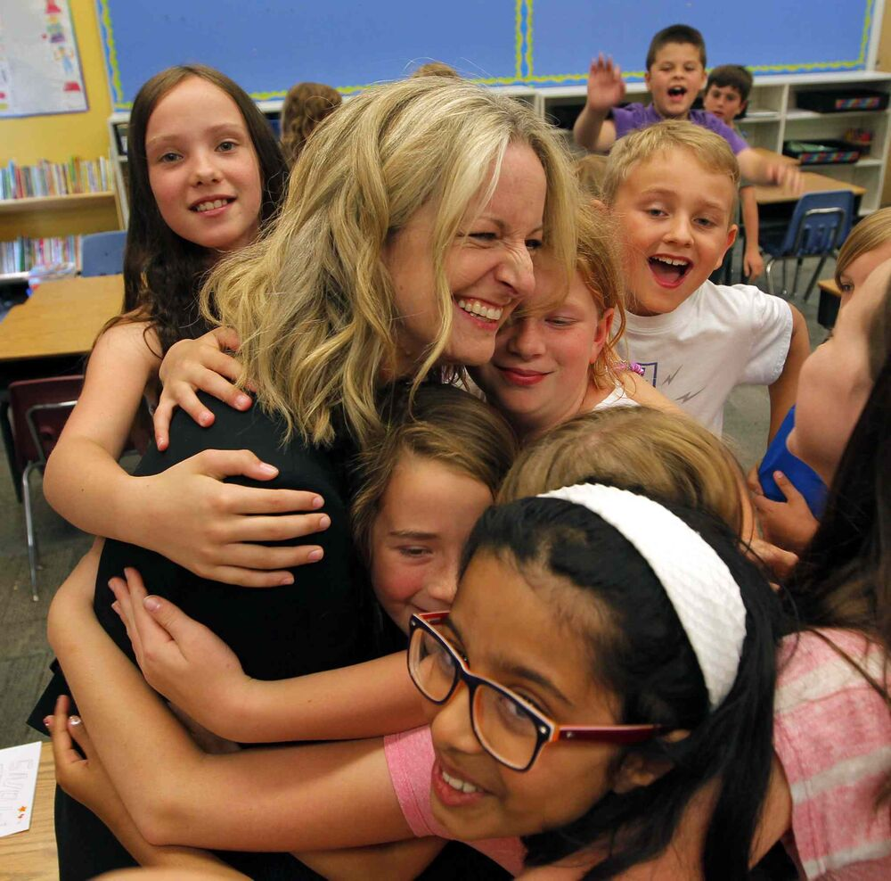 Just four months after she lost her hand as a result of a mail bomb explosion, Maria Mitousis developed a special relationship with Beaverlodge School's Grade 3 and 4 class since the students individually wrote to her and lifted her spirits last fall. June 27, 2016 -