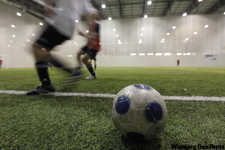 'We are quite excited about it' -- Louis Riel School Division superintendent Terry Borys (inset), on elite soccer school at Glenlawn Collegiate