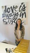 Kayla Wan, of Loka Clothing and Accessories, is excited to have moved the business back to the heart of River Heights.