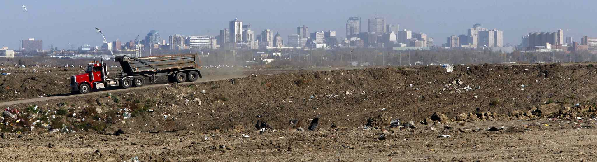 The province is putting together a game plan with the goal of reversing Manitoba's poor record of diverting waste from garbage dumps such as the Brady Road Landfill site (above).