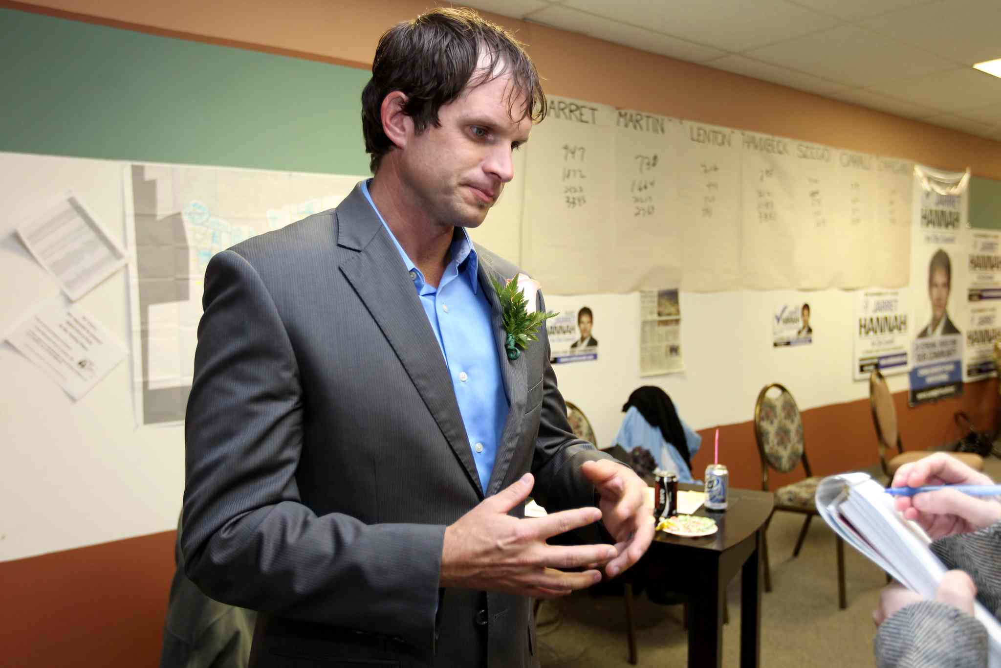 Jarret Hannah has decided not to seek the federal Conservative nomination in Winnipeg South.