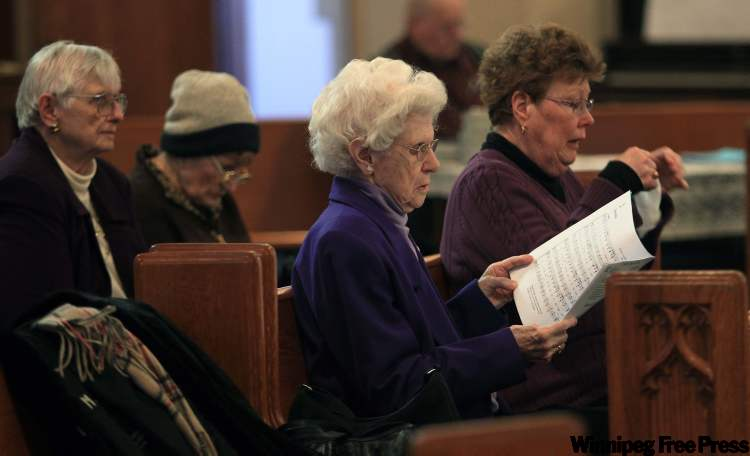 Sunday attendance hovers around 55 to 70 at St. Matthew's, which will become a tenant in its own building.