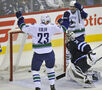 Vancouver Canucks vs. Winnipeg Jets Jan. 31, 2014