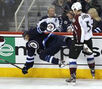 Slideshow: Avs at Jets, Feb. 19, 2012
