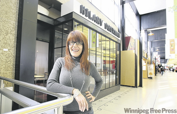 RUTH BONNEVILLE / WINNIPEG FREE PRESS Hilary Druxman general manager Tracey Young says airport site �a great fit.�
