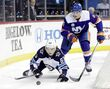 Pulock anchoring Isles' blue line
