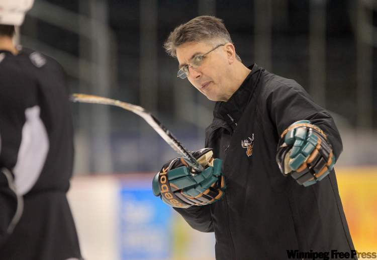 Manitoba Moose coach Claude Noel will be the team's new head coach.