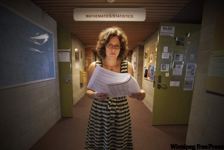 U of W Prof. Anna Stokke has started a petition demanding higher admission standards in math for education students.