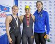 Bisons swimming in success