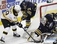 Bruins' centre has kind words for Jets coach