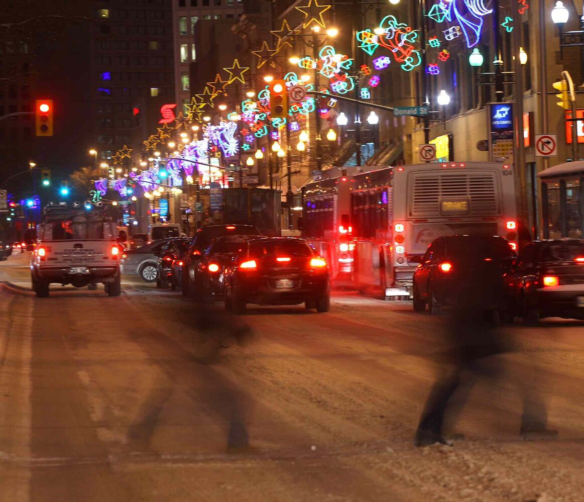 Holiday Lights glow in downtown Winnipeg