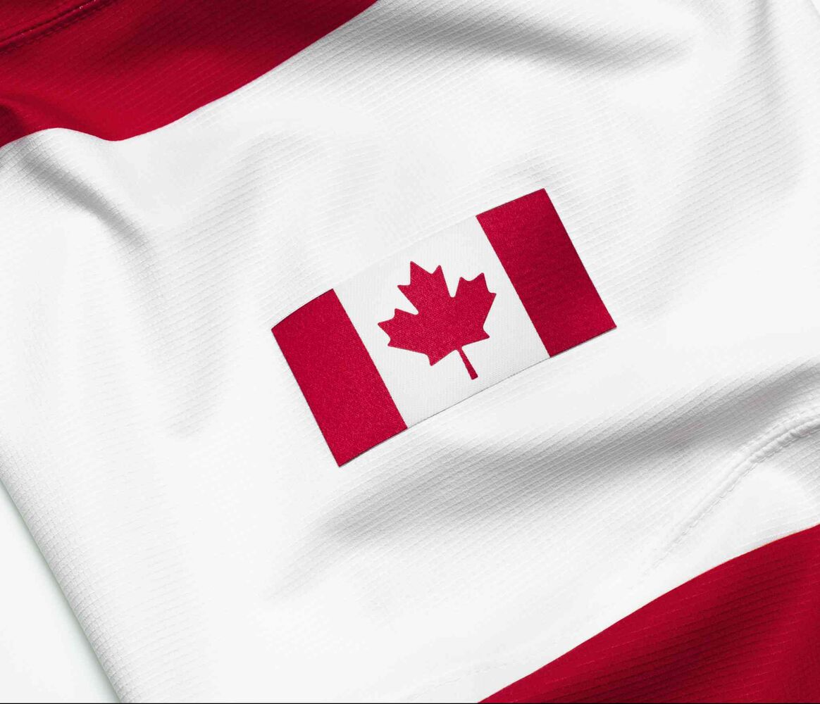 """For many, the red and white are not mere colours and the maple leaf is not just another symbol; rather, it has become a part of our very own identity. It stands as a reminder that despite our perceived differences, we as a nation share a passion and a tradition with the capacity to unite regions, languages and cultures."" - Marcel Abut, Canadian Olympic Committee president. (Nike Inc.)"