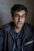 Director Ramin Bahrani is pictured in a Toronto hotel room as he promotes the film