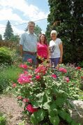 Canadian Liver Foundation Manitoba chapter representatives Bianca Pengelly and Luella Stephens are organizing a garden tour, which includes Stephens' husband's Jim's gardens.