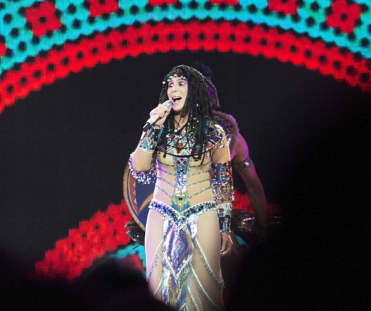 Cher has said this will definitely be her last tour. (Sarah Taylor / Winnipeg Free Press)