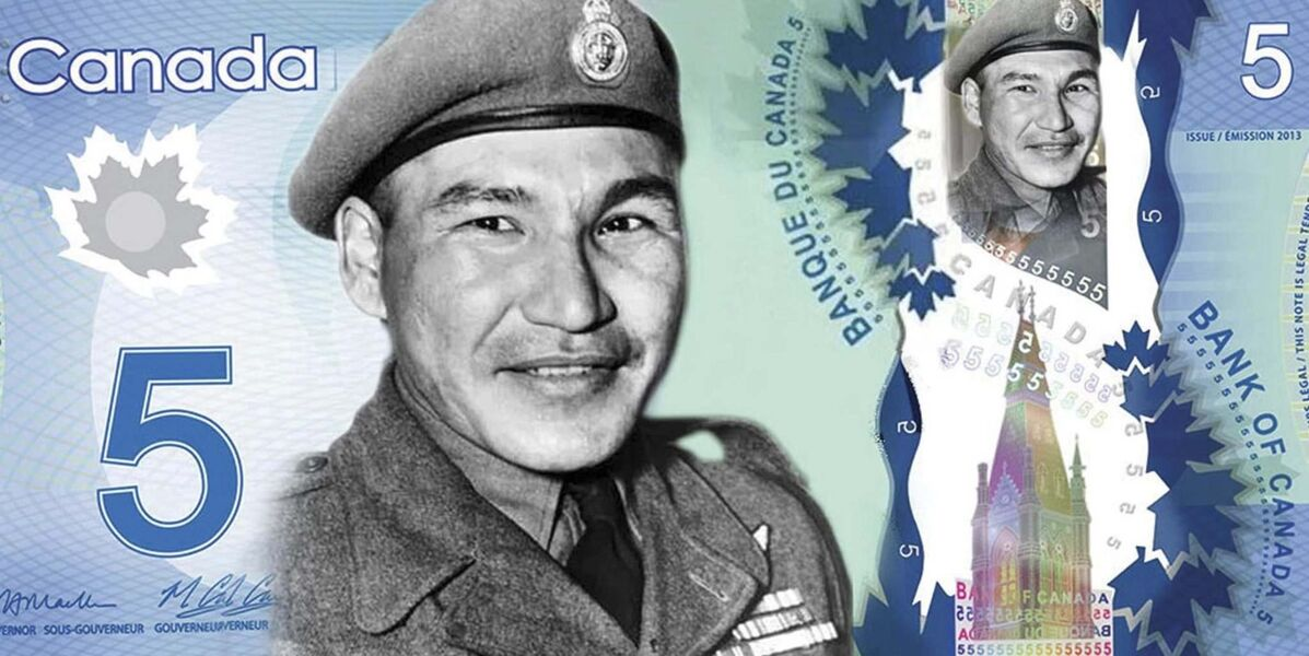 Sgt. Tommy Prince touted for new $5 bill
