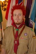 Chris Elwick volunteered with  Scouts Canada from 1999 to 2009.