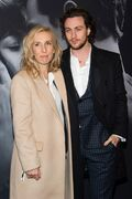 FILE - In this Feb. 6, 2015 file photo, director Sam Taylor-Johnson, left, and Aaron Taylor-Johnson attend a special fan screening of