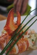 Cold lobster, hot butter and potato salad are as Maritime as it gets, says Nova Scotian Alain Bosse, known as