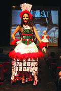 Canstar Community News April 23, 2014 - An outfit shown during Murdoch MacKay Collegiate's Untamed & Unlimited fashion show at Manitoba Theatre for Young People, featuring garments made by students in class, last year.. (JORDAN THOMPSON)