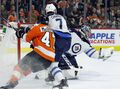 Laine can't lift Jets over Flyers