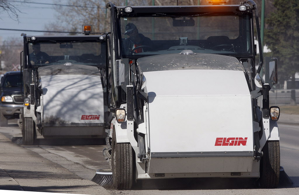 Some councillors on Winnipeg's public works committee balked at the idea of cutting the city's street-sweeping program.