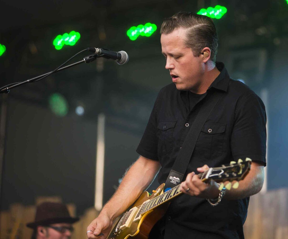 Jason Isbell plays at the Winnipeg Folk Festival in Birds Hill Park on Friday, July 10, 2015.   Mikaela MacKenzie / Winnipeg Free Press (Winnipeg Free Press)