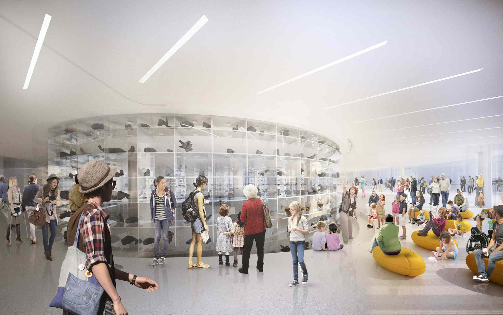 Michael Maltzan Architecture</p><P> The defining feature of the Inuit Art Centre will be a three-storey glass vault that will hold the entire carving collection of the WAG.