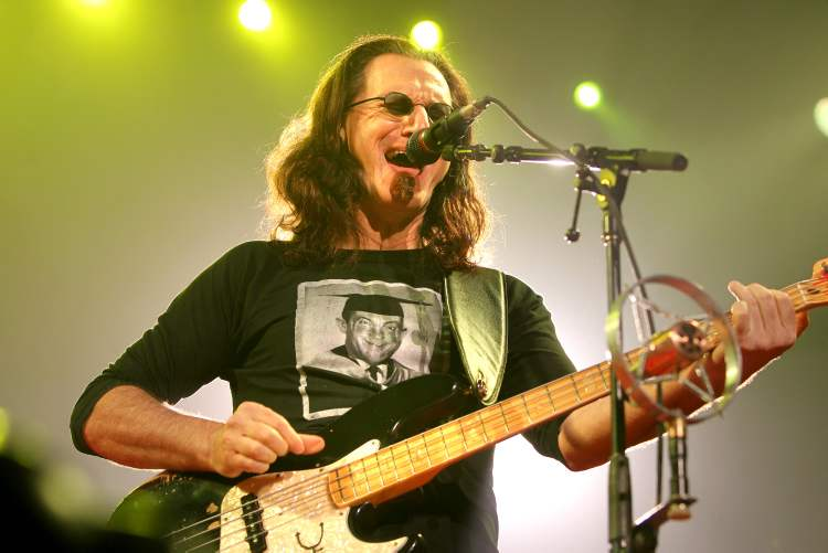 Geddy Lee, Rush frontman