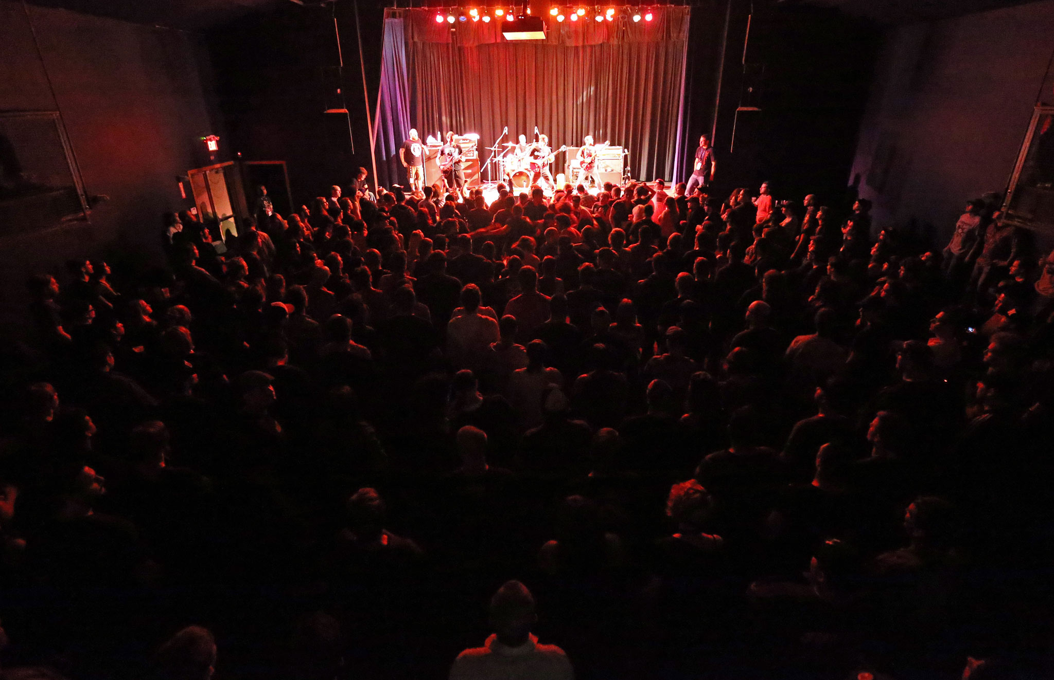 Propaghandi plays to a full house at the West End Cultural Centre in 2012. (Trevor Hagan / Winnipeg Free Press files)