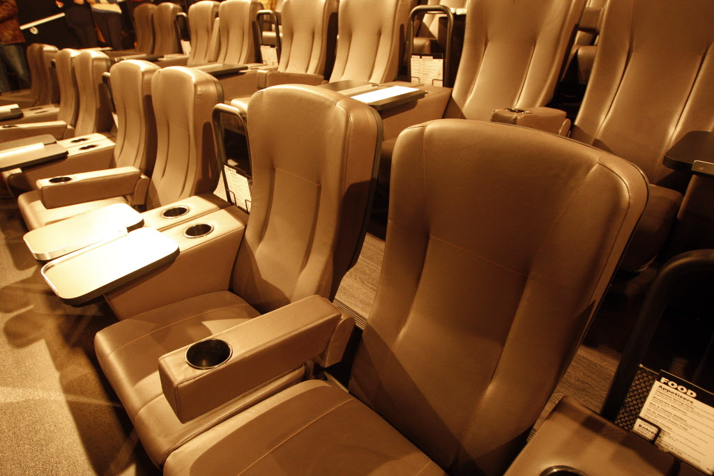 The premium seats will be akin to those at McGillivray's VIP Cinemas in Winnipeg.