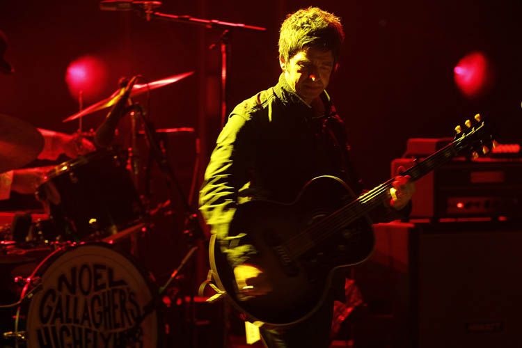 October 30, 2012 - 121030  -  Noel Gallagher's High Flying Birds perform at the Centennial Concert Hall Tuesday October 30, 2012. John Woods / Winnipeg Free Press (Winnipeg Free Press)
