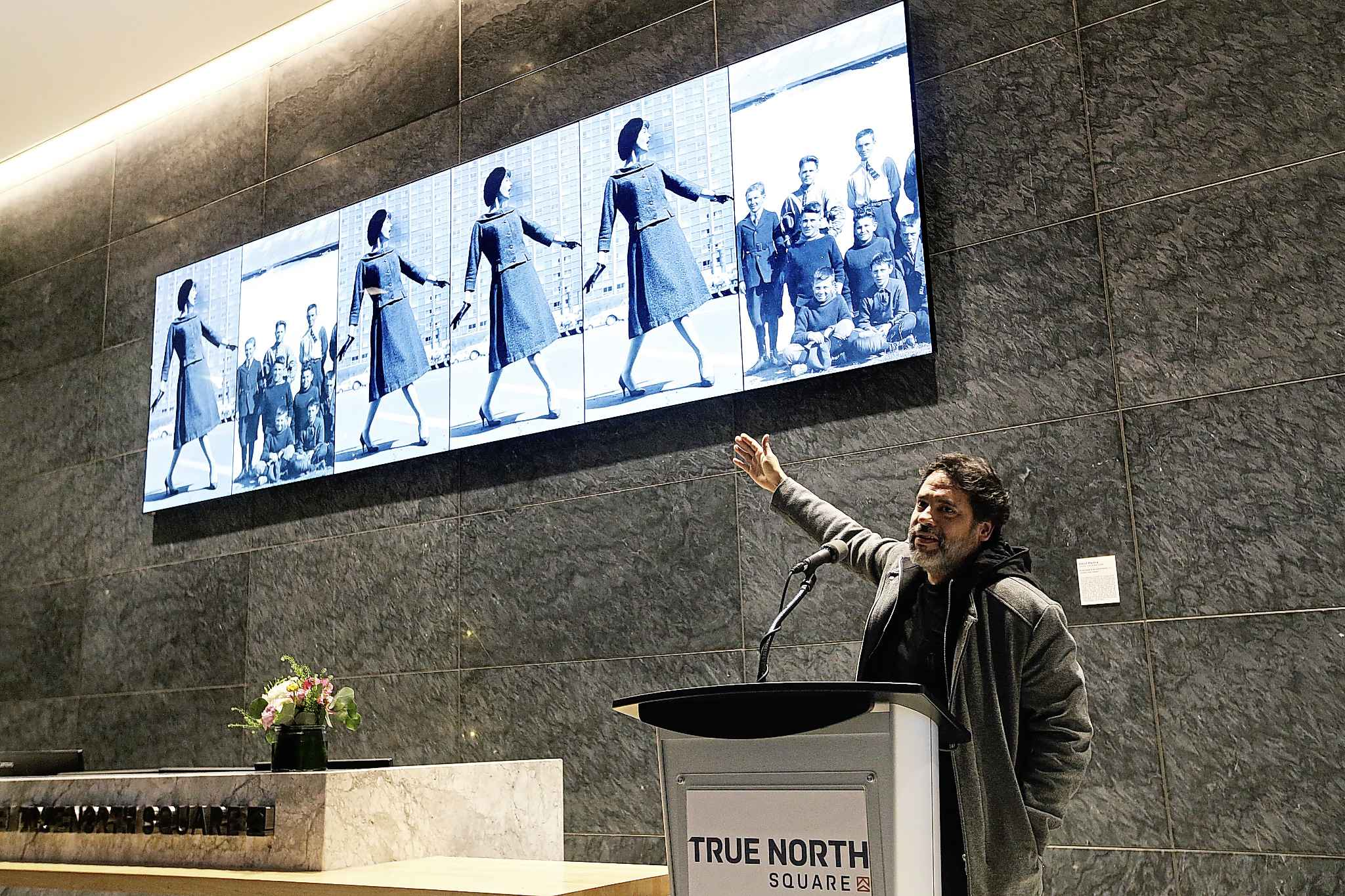 "The Bogota-based Medina said with a laugh, it was ""the weather, of course"" that most struck him when he first arrived in Winnipeg to research. (John Woods / Winnipeg Free Press)"