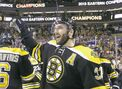 B's bag Bergeron for 8 years