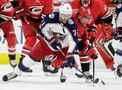 Milano nets 2nd goal in OT, Blue Jackets beat Hurricanes 2-1