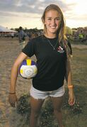 Taylor Pischke's beach team is now ranked 15th in the world.