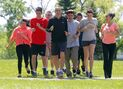 Recently assaulted Chief joins with youth for inspirational marathon trek