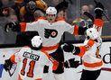 Sanheim scores in OT, Flyers top Bruins for 6th straight
