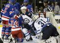 Jokinen pots two goals to lead Jets to 5-2 win over Rangers
