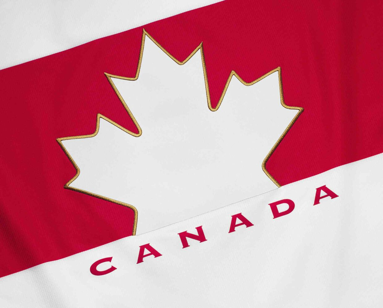 """Lighter graphic executions create a modern uniform and sport feel."" - Hockey Canada (Nike Inc.)"